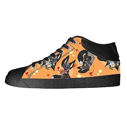 Tetto Scarpe da I delle Fox Canvas Alto Lacci Custom Scarpe Women's Ginnastica Scarpe Shoes wnqOZxf6