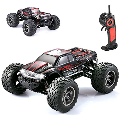 GP – NextX S911 RC Car 1/12 35+MPH High Speed Remote Control Off Road Monster Truck ( Red )