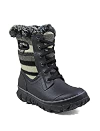 Bogs Outdoor Boots Women Arcata Stripe Wool Waterproof Insulated 72105