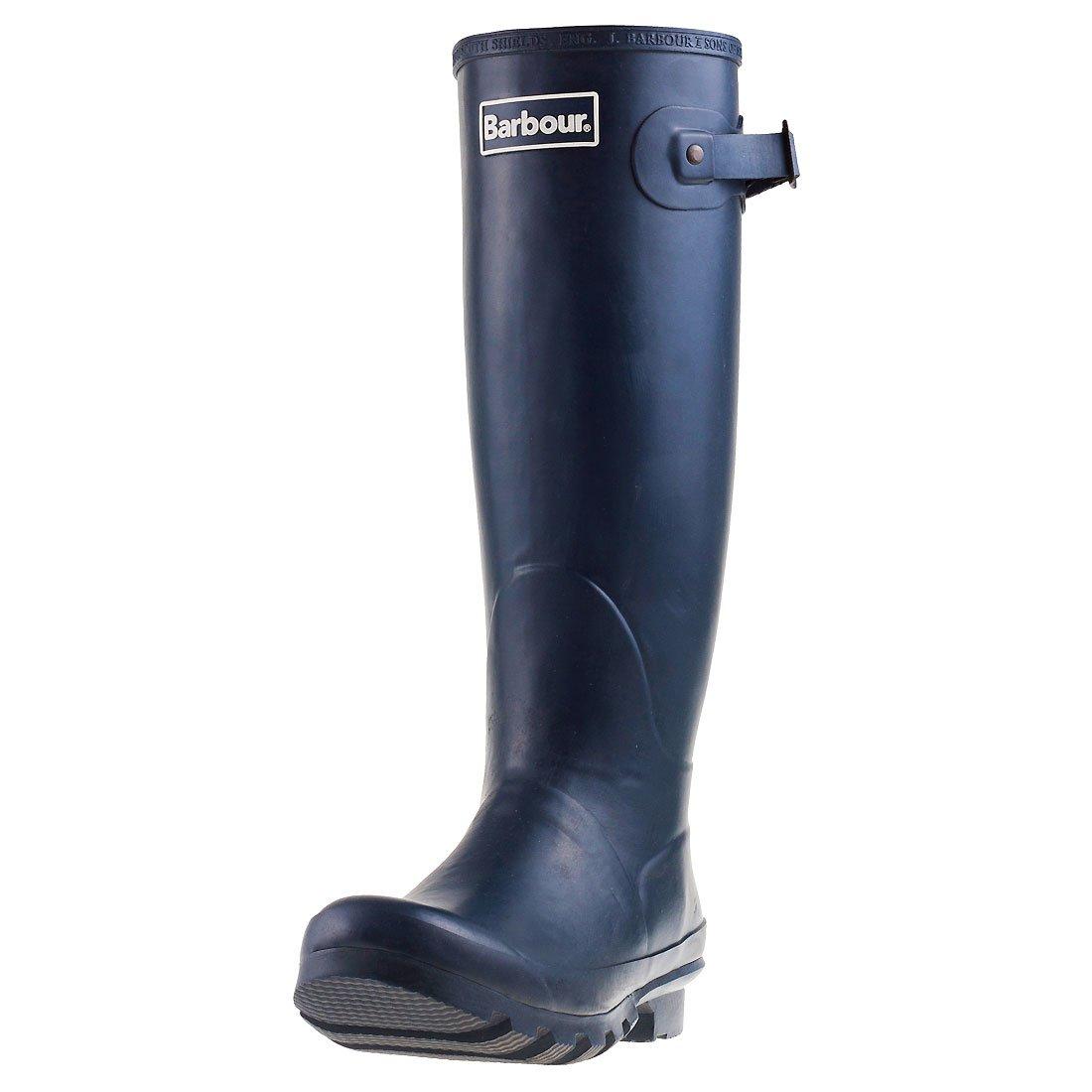 [バブアー] Womens Bede雪Wellingtons Mid Calf冬防水ブーツ 6 B(M) US ネイビー B00NA7T97U