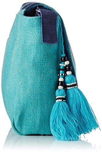 Turquoise Babylone Lollipops Sac porté épaule Bleu Shoulder dSYwPrqxY
