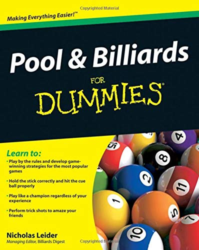 Pool & Billiards for Dummies: Amazon.es: Leider, Nicholas: Libros en idiomas extranjeros