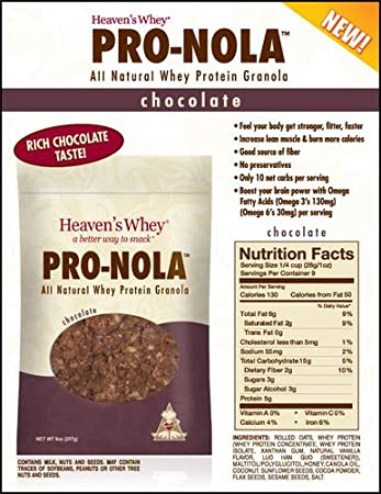 Amazon.com: Cielos Suero – pro-nola Chocolate 9 G: Health ...