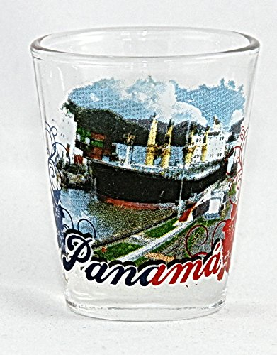 Panama Canal Shot Glass