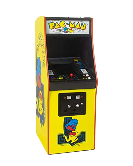 Official Pac Man Quarter Size Arcade Cabinet 17 Tall