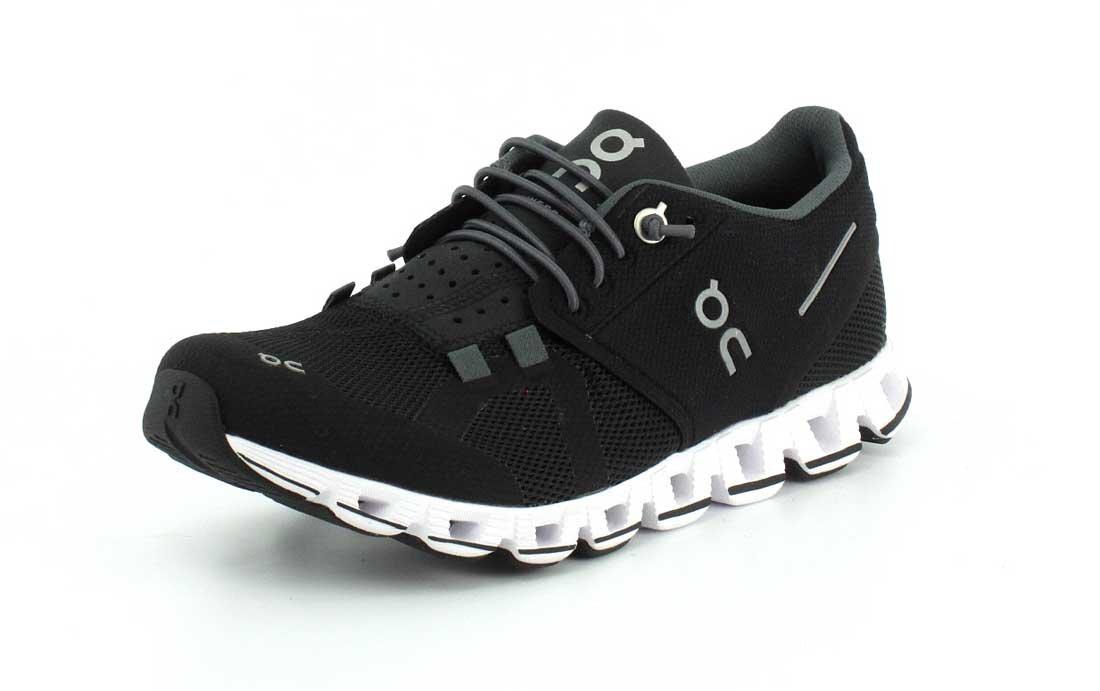 on Running Zapatillas on Cloud Denim/Blanco 38 EU|Negro