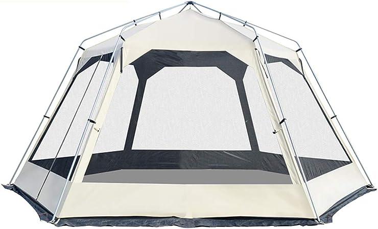Carpas De Playa, Toldo Exterior 6-10 Personas Construir RáPidamente,Tienda De CampañA De Pesca De ExcursióN De Camping De Sombra De PlayaproteccióN Solar Y Cubierta De Lluvia, Nanayaya: Amazon.es: Jardín
