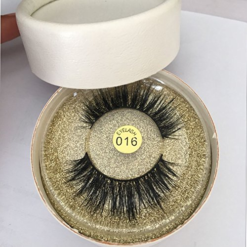 96dd7503933 Nicewig Natural Long-Lasting Mink False Eyelashes- Individual Set of Prime Thick  Fake Long Black Lash for Beauty and Makeup- Best Dramatic Top Wispies ...