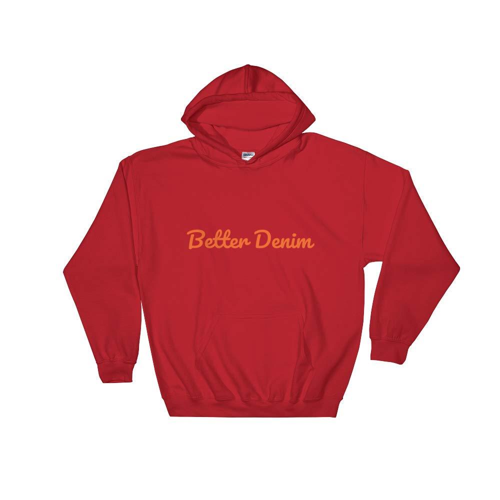 Better Denim Hooded Sweatshirt