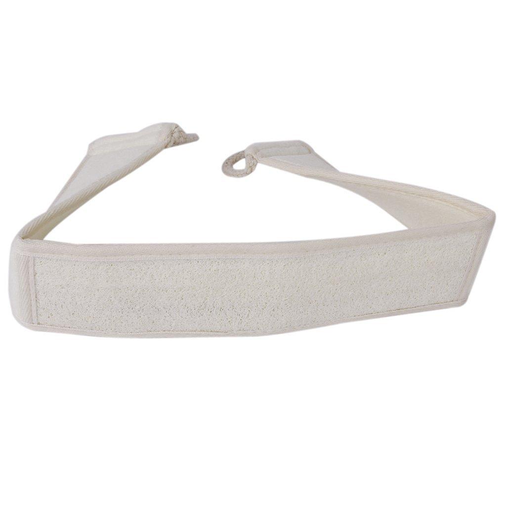 Beige ma-on rascador de espalda correa de cintur/ón de ba/ñera y ducha exfoliante espalda masajeador