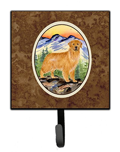 Caroline's Treasures SS8163SH4 Golden Retriever Leash Holder or Key Hook, Small, ()