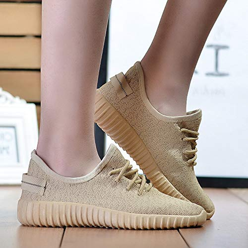 Hasag Sneakers Net Shoes Fashion Casual Candy Color Single Zapatos Zapatos Mujeres Zapatos gold