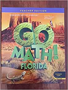 Amazon.com: Houghton Mifflin Harcourt Go Math Florida ...