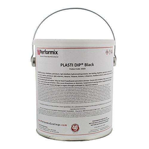 Plasti Dip Multi-Purpose Rubber Coating - One Gallon (128oz) - BLACK by Plasti Dip (Image #1)