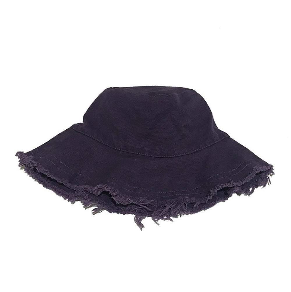 Sombrero de Ocio Ajustable Sombrero de Sol Plegable WEY Sombrero de Pescador Tela de Lavado de Moda Gorras para Hombres//Mujer,P/úrpura,Un tama/ño
