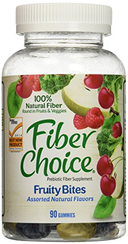 Cheap Fiber Choice Fruity Bites Gummy, 180 Count