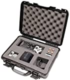 Gator Cases GU-ZOOMH6-WP Titan Series Waterproof with Custom Insert for Handheld Recorder & Accessories