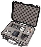 Gator Cases GU-ZOOMH6-WP Titan Series Waterproof with Custom Insert for Handheld Recorder & Accessories