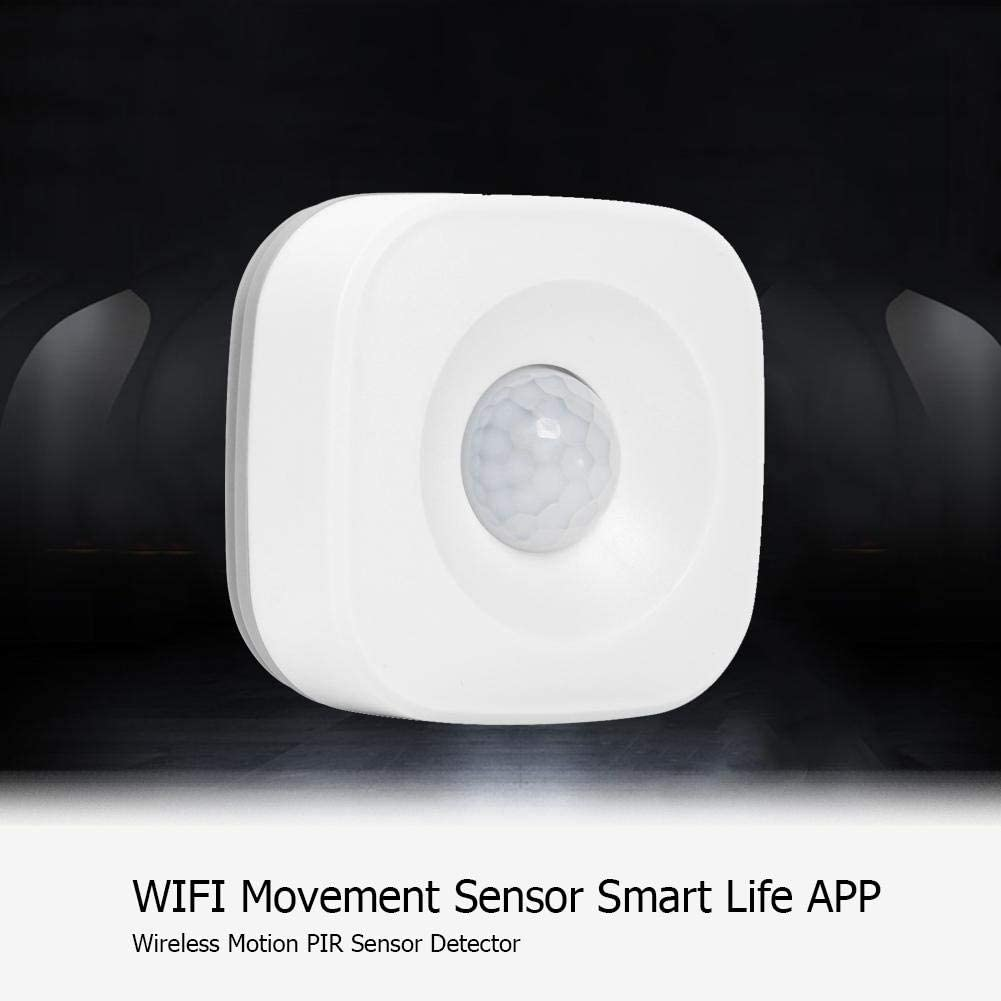 WiFi Movement Sensor Smart Life APP Wireless Motion PIR Sensor Detector