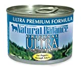 Natural Balance Original Ultra Formula Dog Food (Pack of 12 6-Ounce Cans), My Pet Supplies