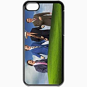 Personalized iPhone 5C Cell phone Case/Cover Skin Anchorman movies Black