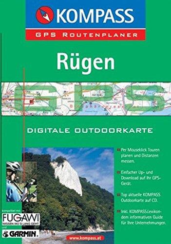 Rügen: Mit digitaler Outdoorkarte und Kurzführer. GPS-Routenplaner (KOMPASS Digitale Karten, Band 4737)