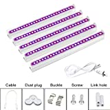 Otryad 5Pcs T5 Grow Lights, Full Spectrum Led Grow Light T5 Tube