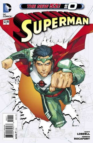 Superman #0 New 52 Comic Book - Northgate Stores