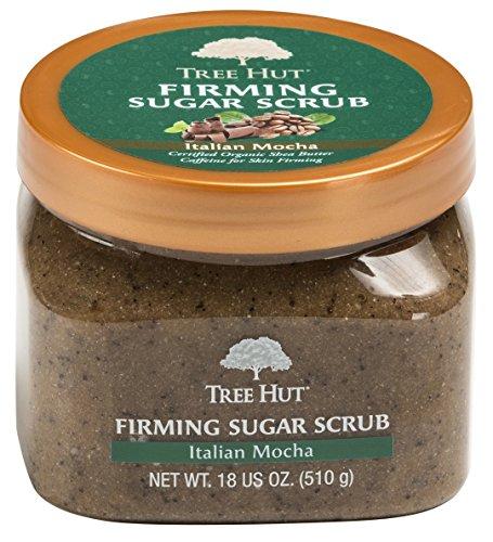 Tree Hut Sugar Body Scrub 18 Ounce Italian Mocha Firming (532ml) (3 Pack)