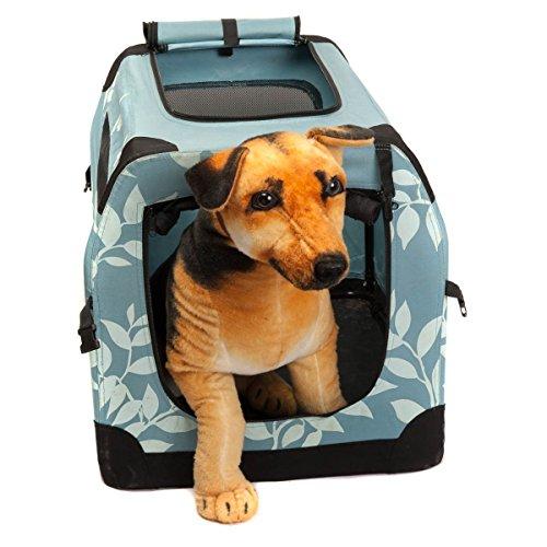 Favorita 71 x 51 x 51 cm Sac Pet Carrier, Voyage portable pliable, 600D Oxford tissu imperméable et mesh ventilation durable service