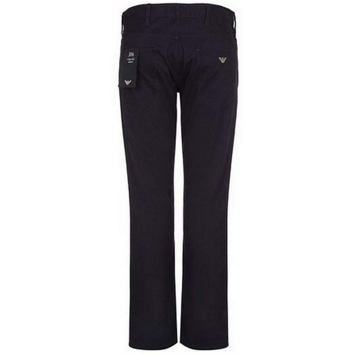Armani Hombres J06 Slim Fit Jeans Blue Navy Blue: Amazon.es ...