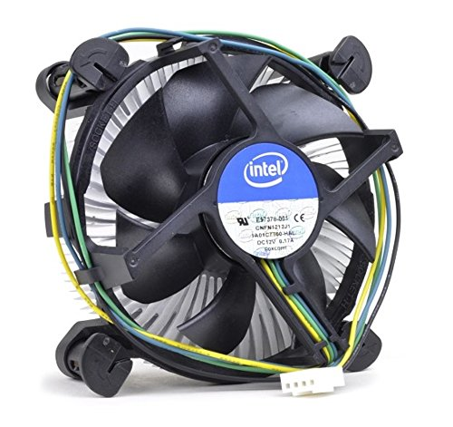 Intel Core i3/i5/i7 Socket 1150/1151/1155/1156 4-Pin Connector CPU Cooler With Copper Core Base & Aluminum Heatsink & 3.5-Inch Fan With Pre-Applied Thermal Paste (TS10) by TronStore (Image #2)'
