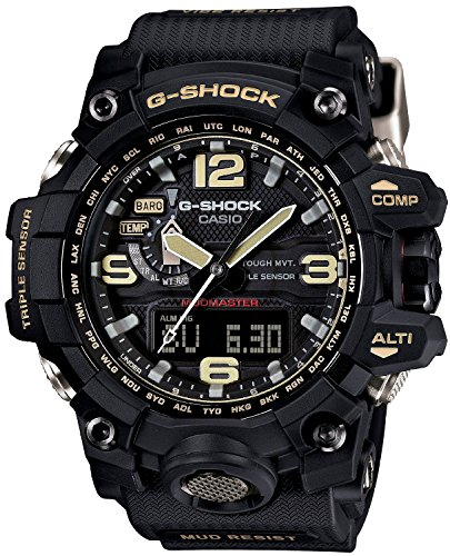 CASIO watch G-SHOCK Mad master world six stations corresponding Solar radio GWG-1000-1AJF Men's