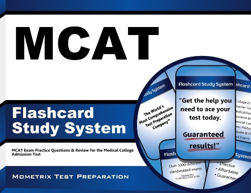 MCAT Flashcard Study System: MCAT Exam Practice Questions & Review for the Medical College Admission Test (Cards) by MCAT Exam Secrets Test Prep Team (2013-02-14) Cards