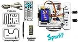 ArcBotics Sparki Robot - Programmable Arduino STEM Robot Kit for Kids - Complete Platform to Learn Robotics, Coding and Electronics