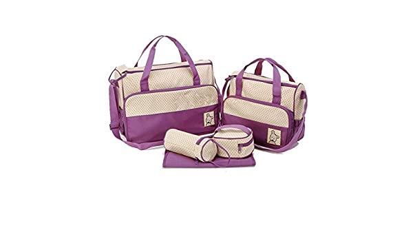 Amazon.com : JFYB, MANGO-Set 5 kits Bolso/Bolsa/Bolsillo Maternal Beb para carro carrito bibern colchoneta comida paal : Baby