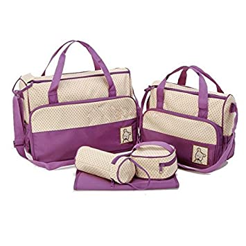 Amazon.com : JFYB, MANGO-Set 5 kits Bolso/Bolsa/Bolsillo Maternal ...