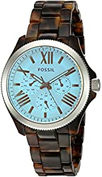 Fossil Women's AM4641 Cecile Multifunction Tortoise Acetate Watch