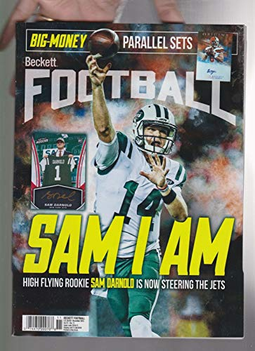Cover Beckett Football (BECKETT FOOTBALL SPORTS MAGAZINE NOV 2018, SAM DARNOLD COVER.)