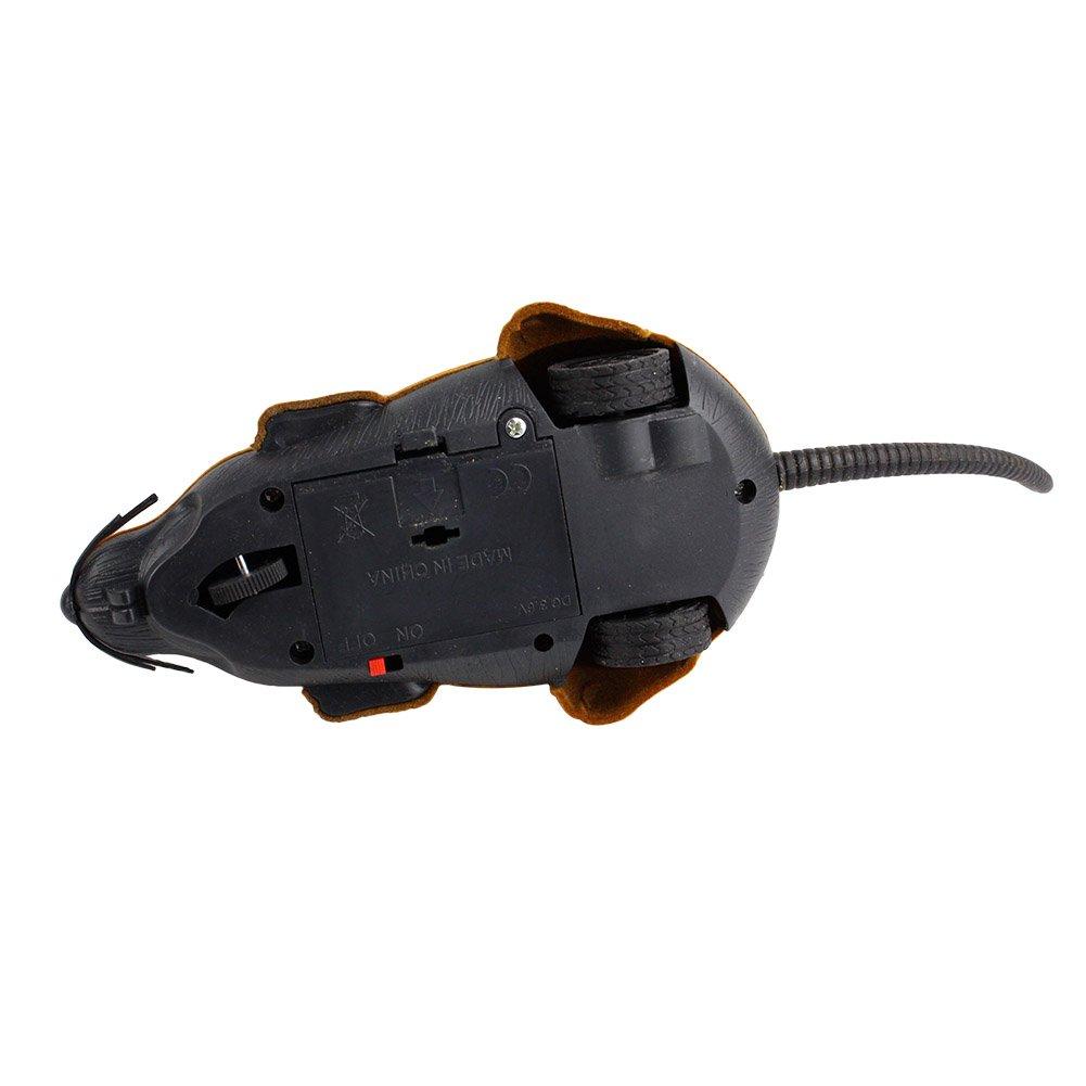 RC Elektrische Ferngesteuerte Ratte Maus mit Fernbedienung Haustier Katzen Hunde Haustierbedarf Spielzeug