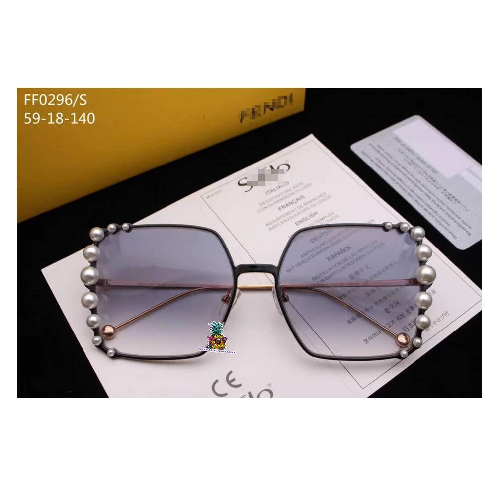 Amazon.com: Italy Designer Eyeglass Frames Glasses Pearl Decoration Full Frame for FF0296-silvery Blue: Camera & Photo