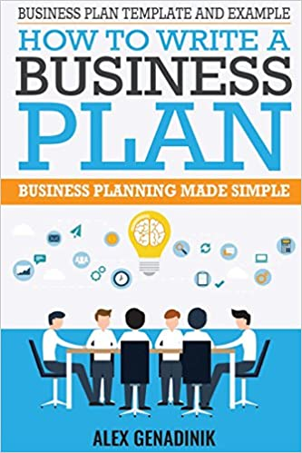amazon business plan template and example how to write a business