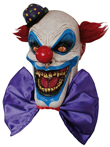 Scary Chompo the Clown Costume Mask - ST]()