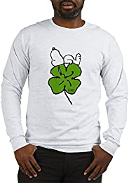 CafePress - Snoopy and Clover - Unisex Cotton Long Sleeve T-Shirt
