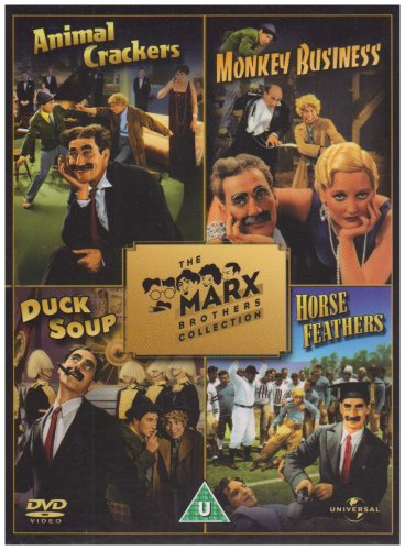 The Marx Brothers Collection Animal Crackers, Monkey Business, Duck Soup, Horse Feathers