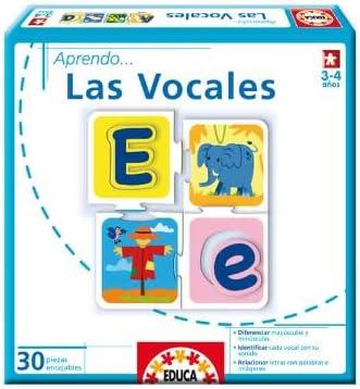 Educa Borrás - Aprendo... Las Vocales (14232): Amazon.es: Juguetes ...