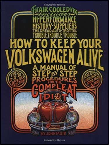 how to keep your volkswagen alive: a manual of step-by-step procedures for  the compleat idiot 19th edition