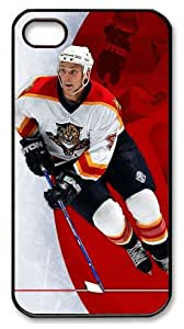 LZHCASE Personalized Protective Case for iPhone 4/4S - NHL Florida Panthers #4 Jay Bouwmeester