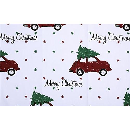 Ladies Christmas Apron - Car Design