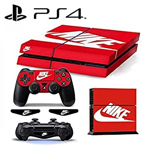 [PS4] ShoeBox #2 Nike Logo Shoe Box Light Bar Whole Body VINYL SKIN STICKER DECAL COVER for PS4 Playstation 4 System Console and Controllers